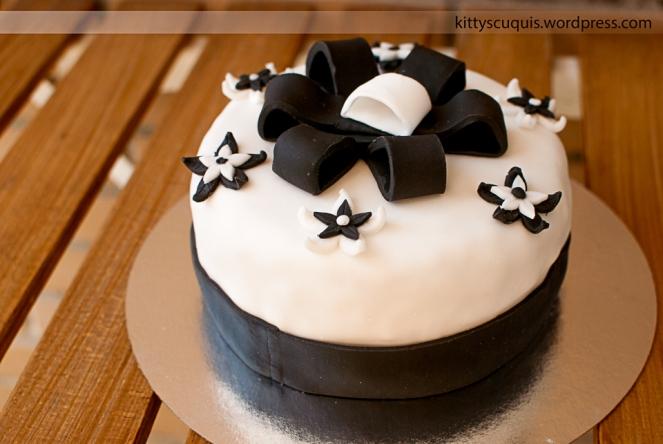 Tarta Black & White
