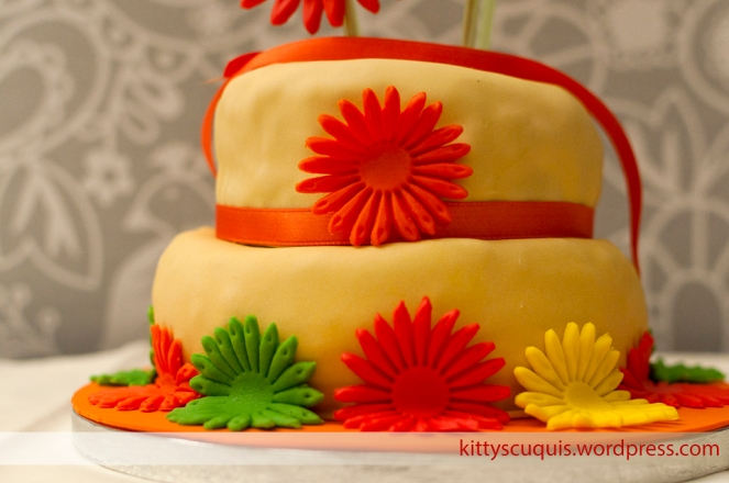 Tarta Girasoles Hippies